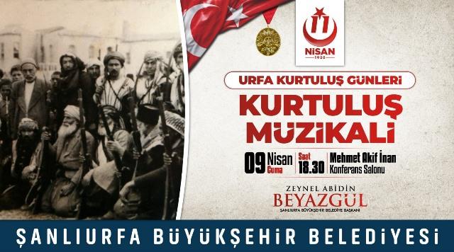 """""""11 Nisan Urfa'nın Kurtuluş Günleri"""" Etkinlikleri Dolu Dolu Geçecek"""