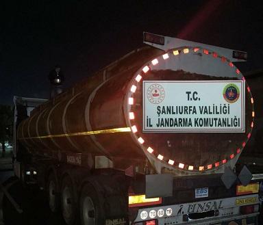 31 bin litre kaçak akaryakıt ele geçirildi