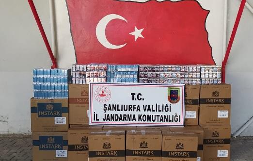 36 Bin paket kaçak sigara yakalandı