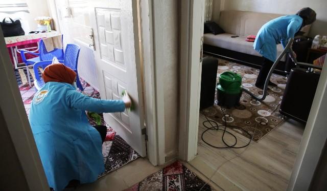 438 Ailenin Ramazan Ayı Temizliği Haliliye Belediyesinden