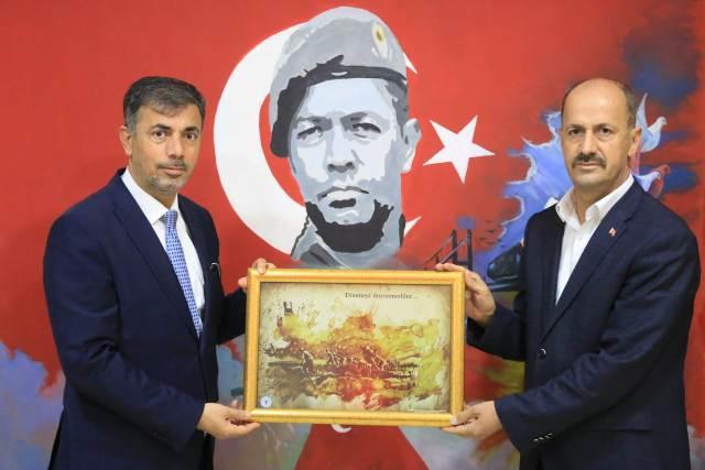Ak Parti İl Başkanı Kırıkçı'dan Başkan Yavuz'a Ziyaret.
