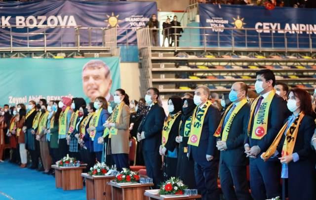 Ak Parti Şanlıurfa kadın kolları 6. Olağan kongresi yapıldı