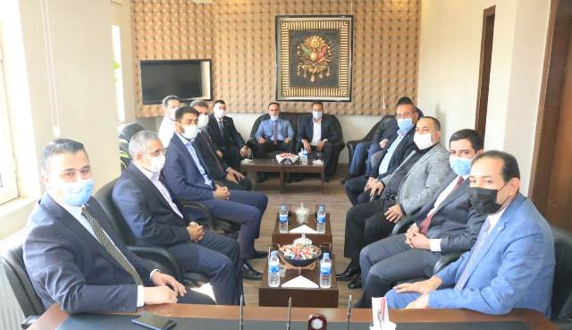 AK PARTİ'den MHP'ye ziyaret