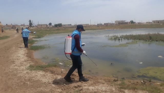 Akçakale Belediyesi Sınır Ötesi Hizmete Devam Ediyor