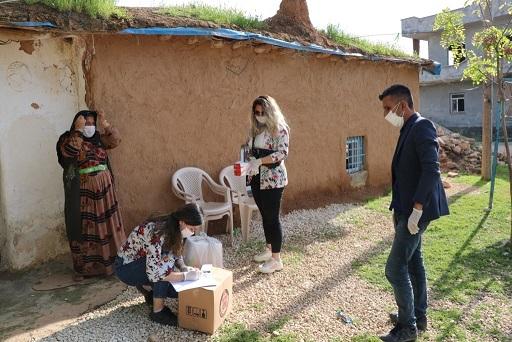 Akçakale ve Harran'da Salgına Karşı Gece Gündüz Çalışıyorlar