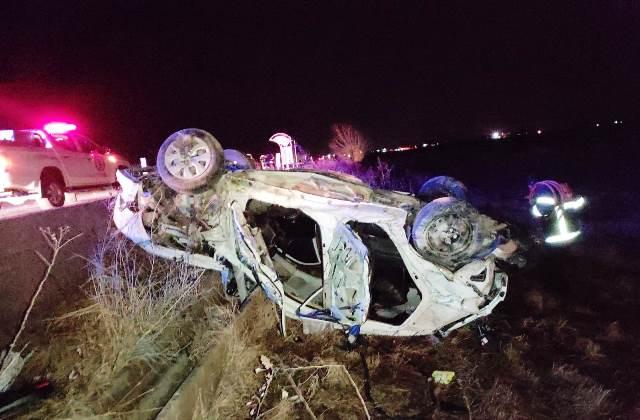 Akçakale yolunda feci kaza 3 ölü 1 yaralı