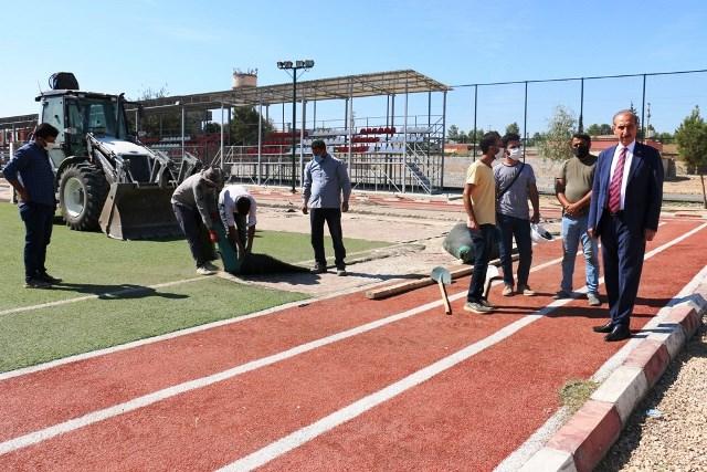 Akçakale'de Dev Spor Projesi Hızla İlerliyor