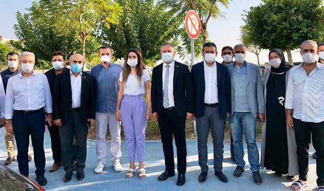 Aziz Aydınlık için CHP Heyeti Mersin'e gitti