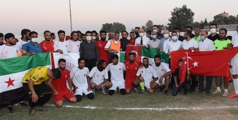 Barış Pınarı Futbol Turnuvasında Dostluk Kazandı