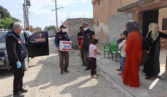 Barış Pınarı'nda insani yardımlar