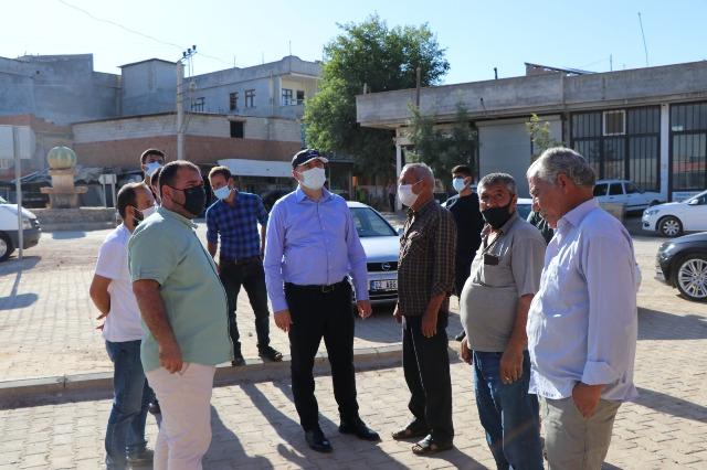 Başkan Aksoy; Bölgenin En Büyük Pazarında incelemelerde bulundu
