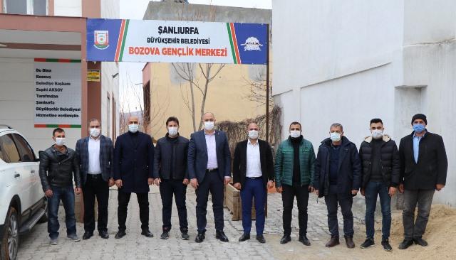 Başkan Aksoy; 'Gençlerimiz bizim değerimizdir'