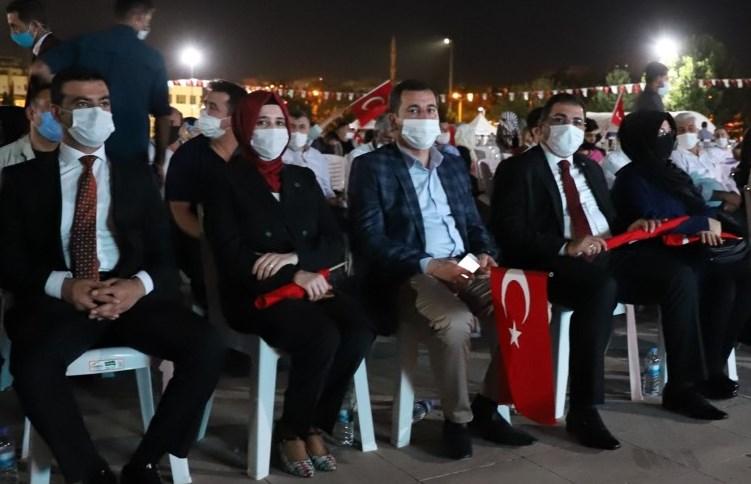 """Başkan Baydilli: """"Ülkeyi ele geçirmeye çalışan şer odaklarına bu halk izin vermedi"""""""