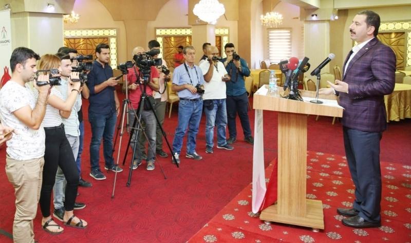 Başkan Baydilli'den Dünya Gazeteciler Günü Mesajı