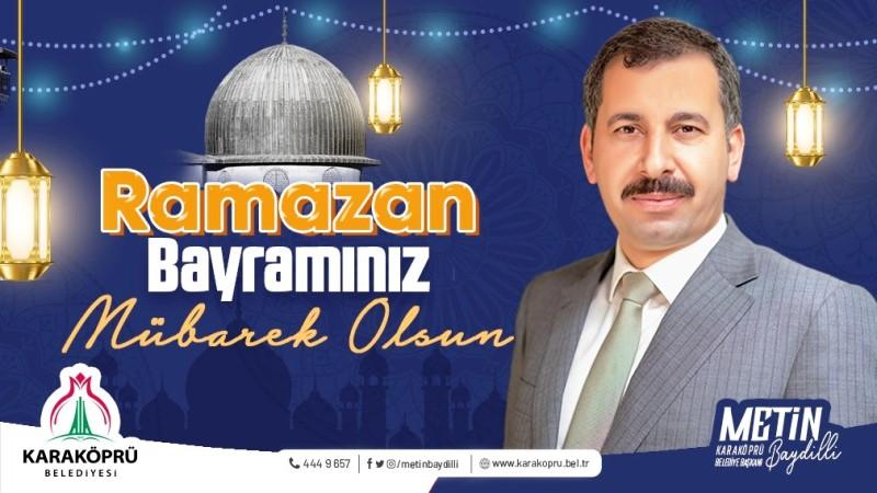 Başkan Baydilli'den Ramazan Bayramı Mesajı