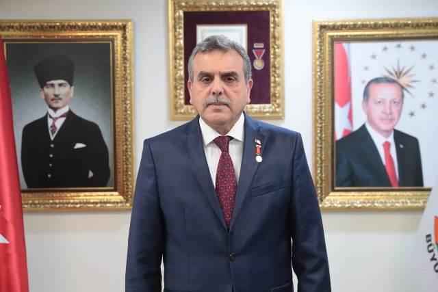 Başkan Beyazgül'den 29 Ekim Cumhuriyet Bayramı Mesajı