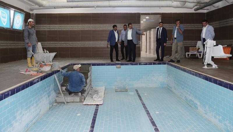 Başkan Canpolat: Söz verdiğimiz engelli havuzumuzu hizmete sunuyoruz