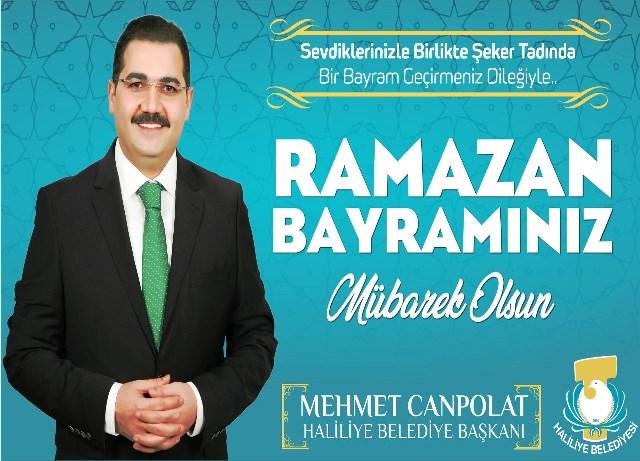 Başkan Canpolat: Tüm islam aleminin ramazan bayramını tebrik ederim