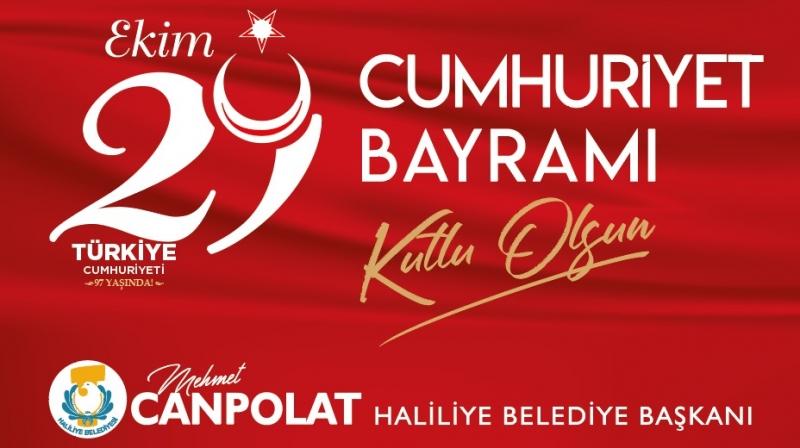 Başkan Canpolat'tan 29 Ekim Cumhuriyet Bayramı Mesajı