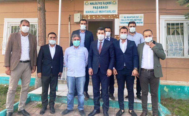Başkan Eyyüpoğlu'ndan Muhtar Aslan'a ziyaret