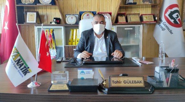 Başkan Gülebak: Gazeteciler risk grubuna alınmalı