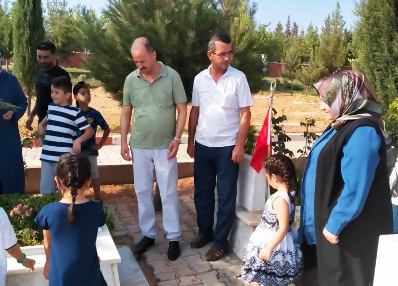 Başkan Mehmet Yavuz Şehit Ailelerini Yalnız Bırakmadı