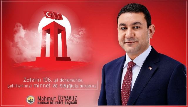 """Başkan Özyavuz: """"Çanakkale Zaferi'nin 106. Yıl dönümünü yaşamanın gururu içerisindeyiz."""""""