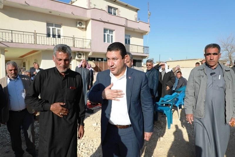 Başkan Özyavuz, Haftasonu da Boş Durmadı