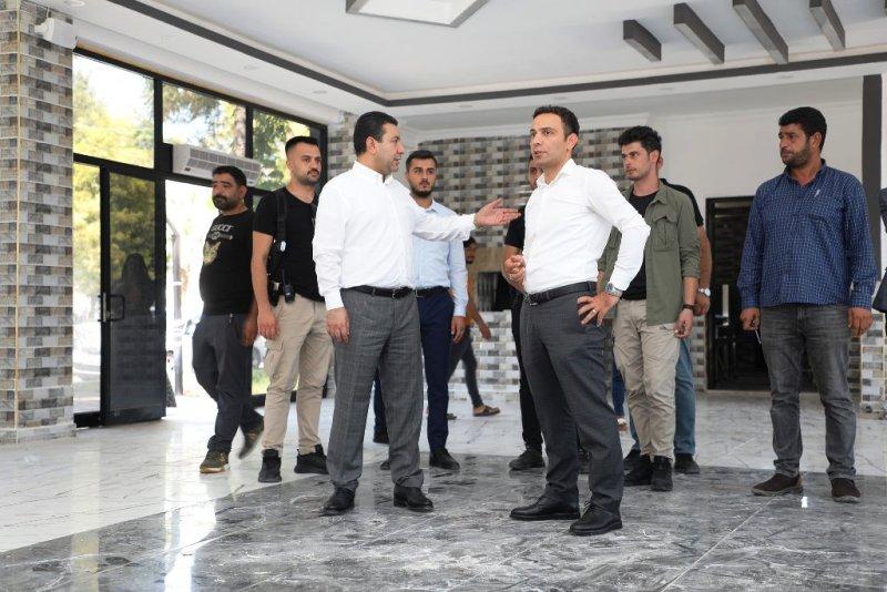 """Başkan Özyavuz: """"sosyal tesisimiz açılışa hazırlanıyor"""""""