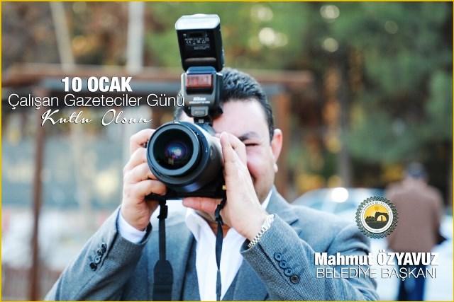 Başkan Özyavuz'dan Çalışan Gazeteciler Günü Mesajı