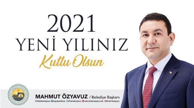 Başkan Özyavuz'dan Yeni Yıl Mesajı