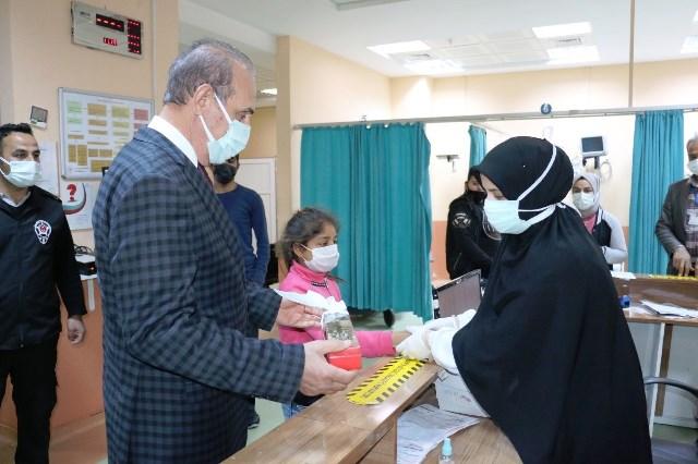 Başkan Yalçınkaya'dan Sağlık Çalışanlarına Ziyaret