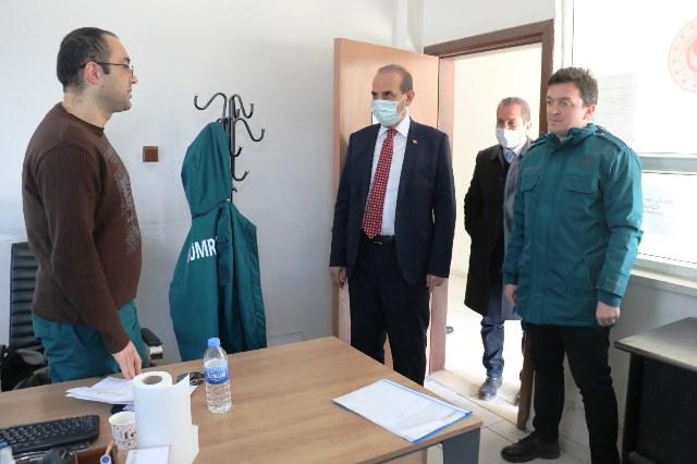 Başkan Yalçınkaya'dan Gümrük Personellerine Anlamlı Ziyaret