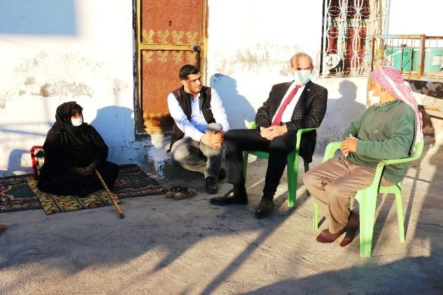 Başkan Yalçınkaya'dan Yaşlılara Moral Ziyareti