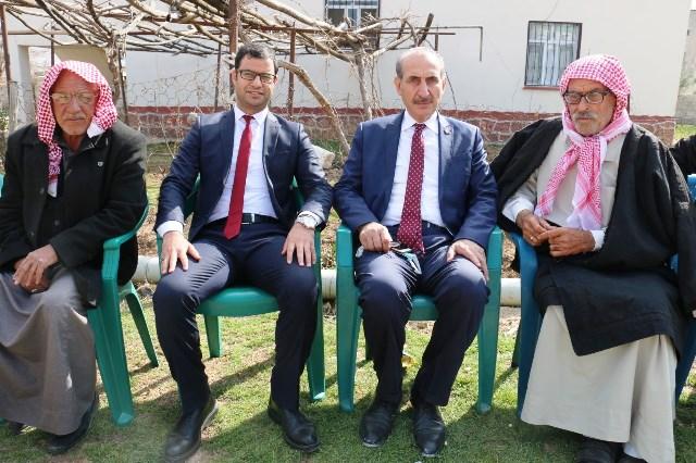 Başkan Yalçınkaya'dan Akçakaleli Kaymakama Ziyaret