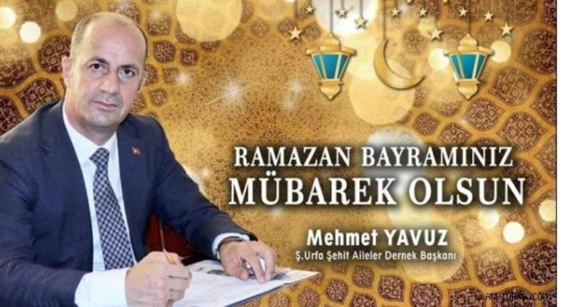 Başkan Yavuz Ramazan Bayramınız Mübarek Olsun!