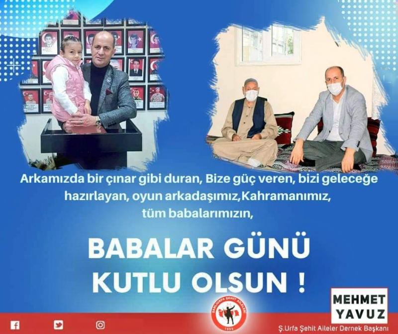 Başkan Yavuz'dan Babalar Günü Mesajı