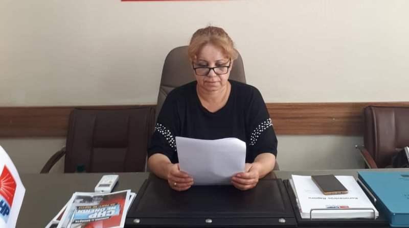 CHP Adıyaman İl Kadın Kolları Başkanı Songül Yavuz'dan 10 Kasım Mesajı