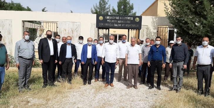 CHP Heyeti Tespit Çalışmaları İçin Şanlıurfa'da