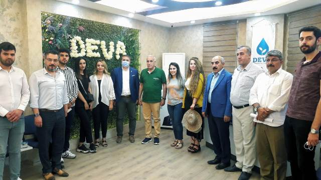 CHP Heyetinden DEVA Partisine Ziyaret