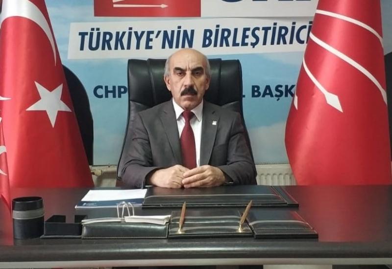 CHP İl Başkanı Cidir:'den Yeni Yıl Mesajı