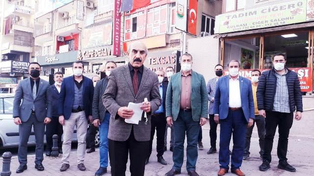 CHP Şanlıurfa İl Başkanlığı'ndan Kılıçdaroğlu'na Destek