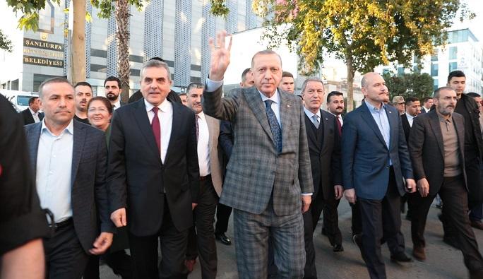 Cumhurbaşkanı Erdoğan, Şanlıurfa'nın 100. Kurtuluş yılını kutladı