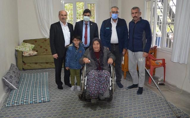 Dayıoğlu, Aydın, Kıran Ve Polat `Tan Engelli Vatandaşlara Tekerlekli Sandalye