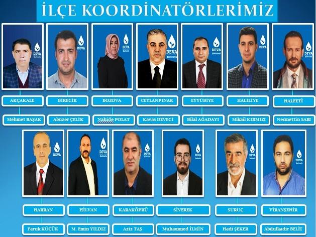 DEVA Partisi İlçe Koordinatörlerini Belirledi