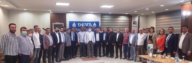 DEVA Partisi Muhtarları Ağırladı