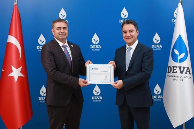 DEVA Partisi Şanlıurfa İl Başkanlığına Ahmet Tüysüz getirildi