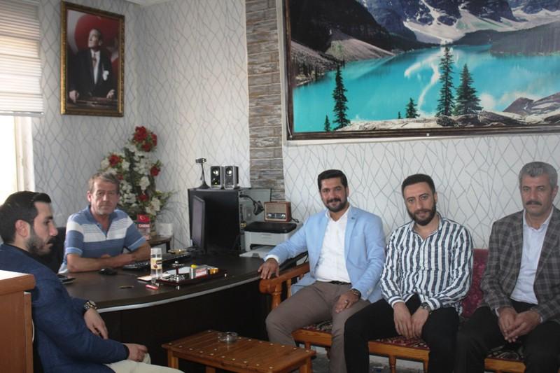 DEVA Partisi'nden muhtar ve basına ziyaret