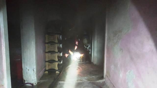Elektrik kontağı yangına neden oldu