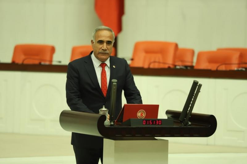 Esnafın sorunlarını CHP'li Aydınlık TBMM'ye taşıdı